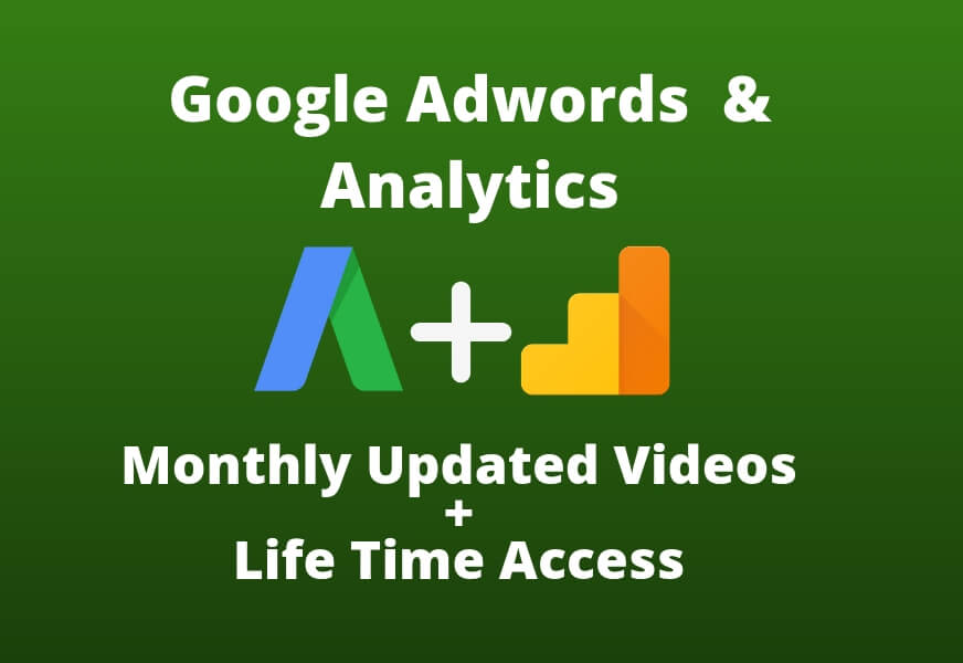 Advanced training in Google Adwords and analytics  (Live Course 20000 Tk & Video Course 10000 Tk)
